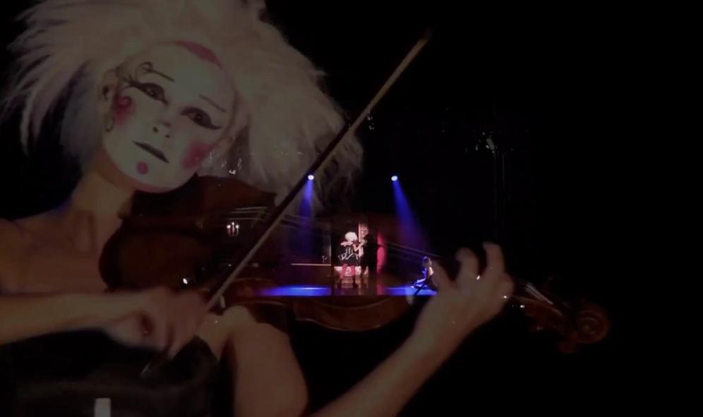 'The Phoenix' (caprice) in 'The Carnival a circus opera' | Hamburg 2013 (2)