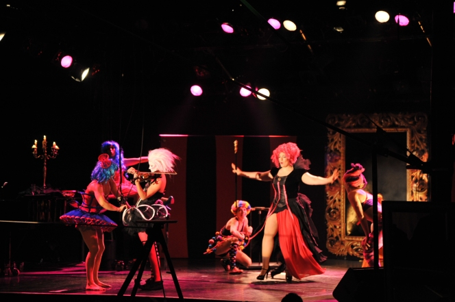 'Welcome to our Land' from 'The Carnival a circus opera   Hamburg 2013 (4)