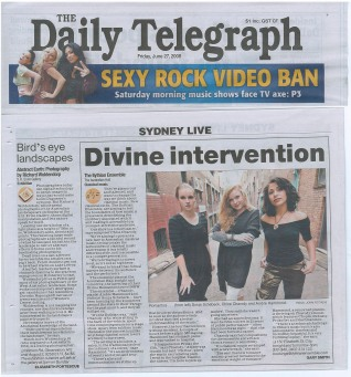 Daily Telegraph article (2009)