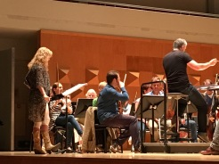 Chloé Charody in rehearsals for 'Morning Blossoms' with The Netherlands Symphony Orchestra | June 24 2016
