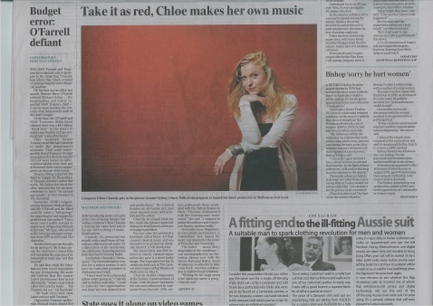 Pg 7, The Australian, April 29th 2011