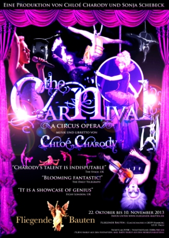 'The Carnival' a circus opera by Chloé Charody | Hamburg 2013