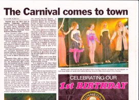 The Carnival, Feature Article